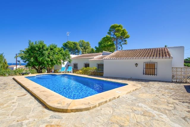 4 sypialnia Willa do wynajęcia w Adsubia z basenem - 1 250 € (Ref: 5319708)
