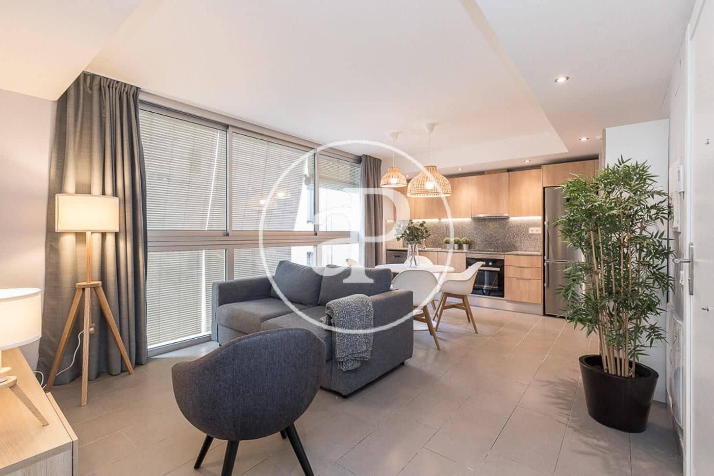 1 slaapkamer Flat te huur in L'Hospitalet de Llobregat - € 1.180 (Ref: 5301070)