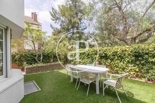 4 slaapkamer Villa te huur in Esplugues de Llobregat met zwembad garage - € 3.500 (Ref: 5510841)
