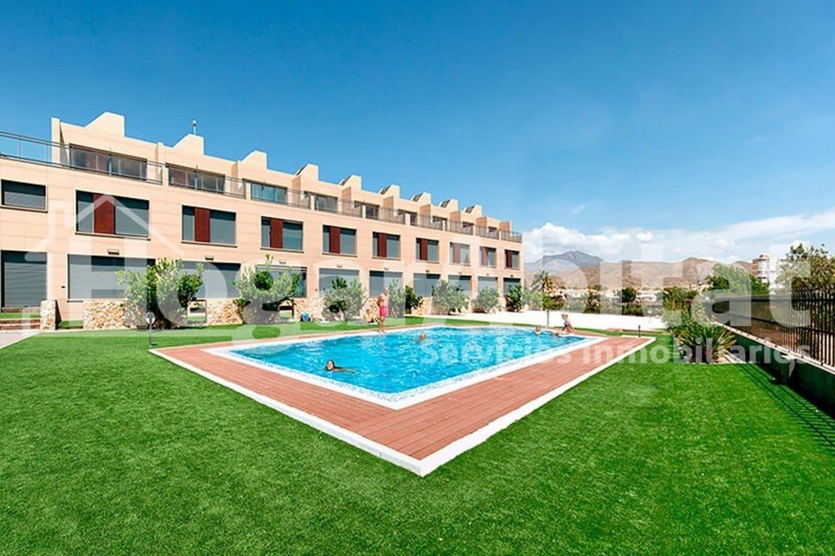 3 camera da letto Villetta a Schiera in vendita in El Campello con piscina garage - 400.000 € (Rif: 5102429)