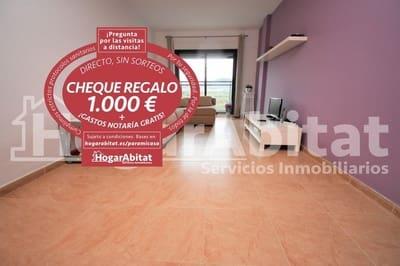 3 bedroom Flat for sale in Onda with garage - € 90,000 (Ref: 5443513)