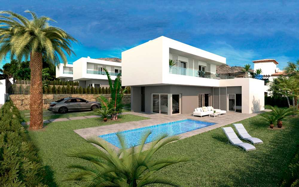 3 bedroom Villa for sale in Finestrat with pool - € 575,000 (Ref: 3917103)