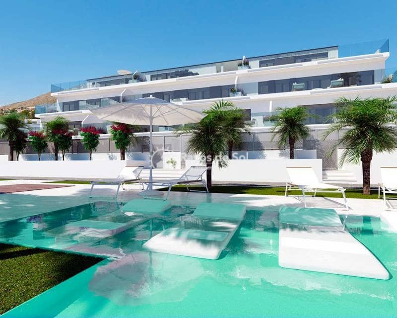 2 bedroom Apartment for sale in Finestrat with pool - € 245,000 (Ref: 5063008)