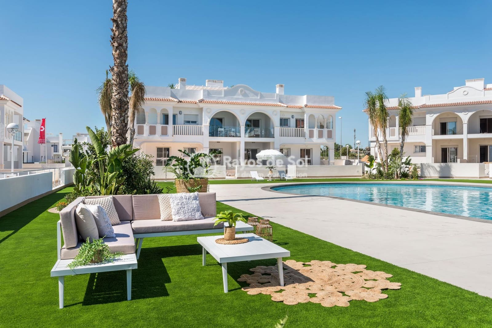 3 bedroom Apartment for sale in Ciudad Quesada with pool - € 265,000 (Ref: 5394980)