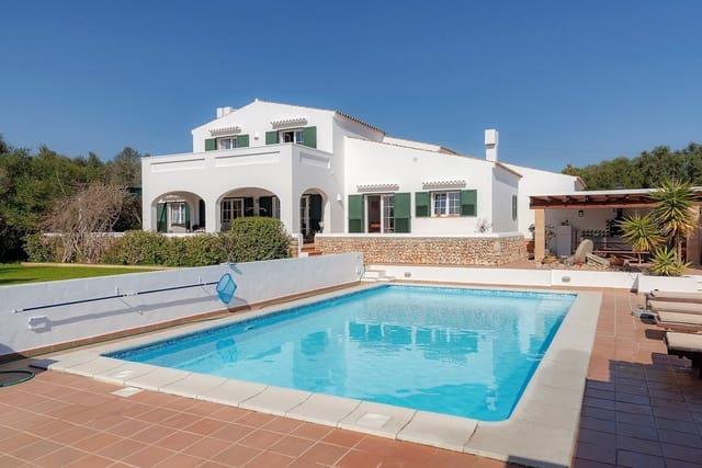 5 soveværelse Finca/Landehus til salg i Llucmacanes med swimmingpool - € 825.000 (Ref: 5055162)