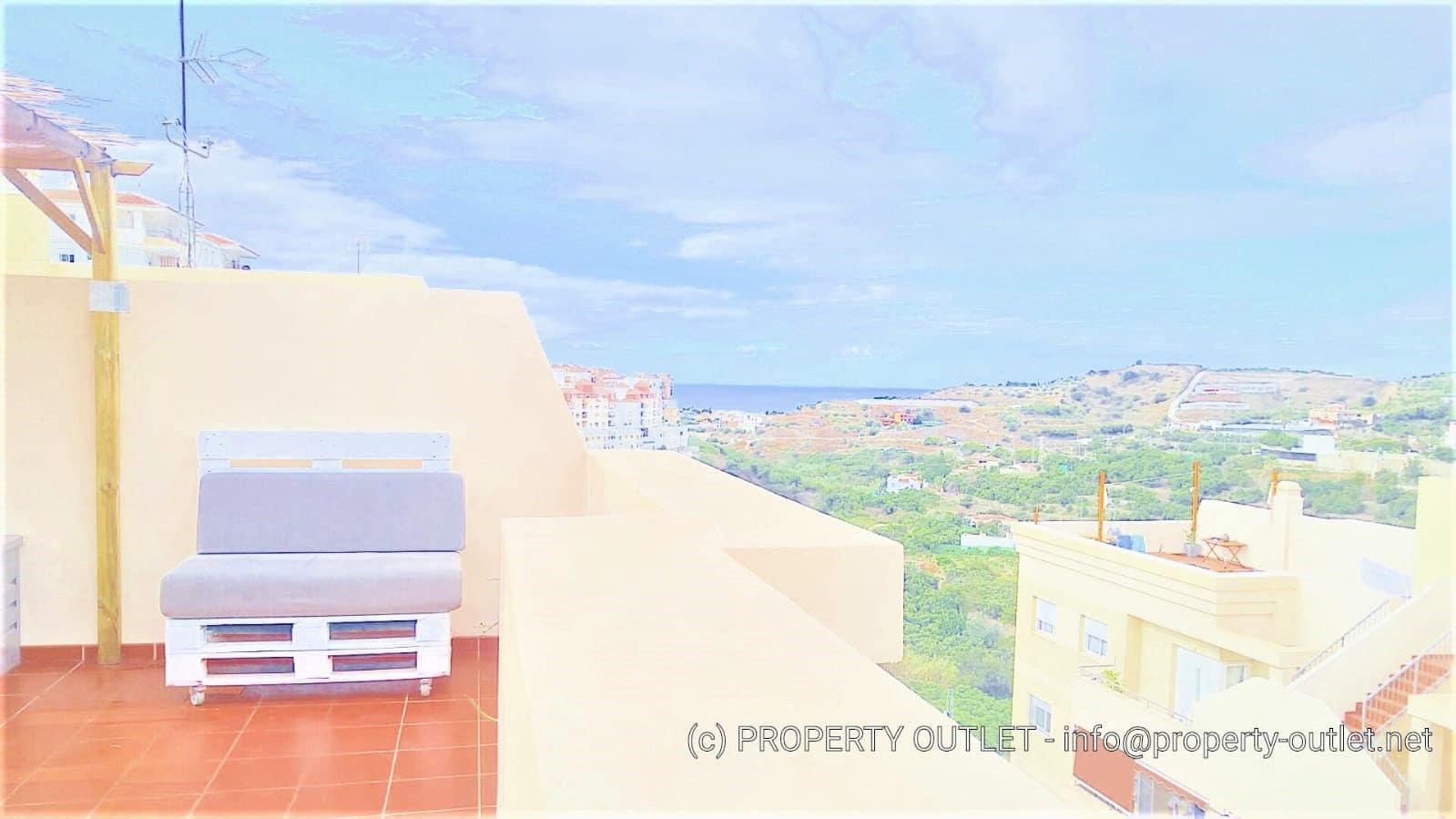 1 slaapkamer Penthouse te huur in Torrox met zwembad garage - € 550 (Ref: 4760085)