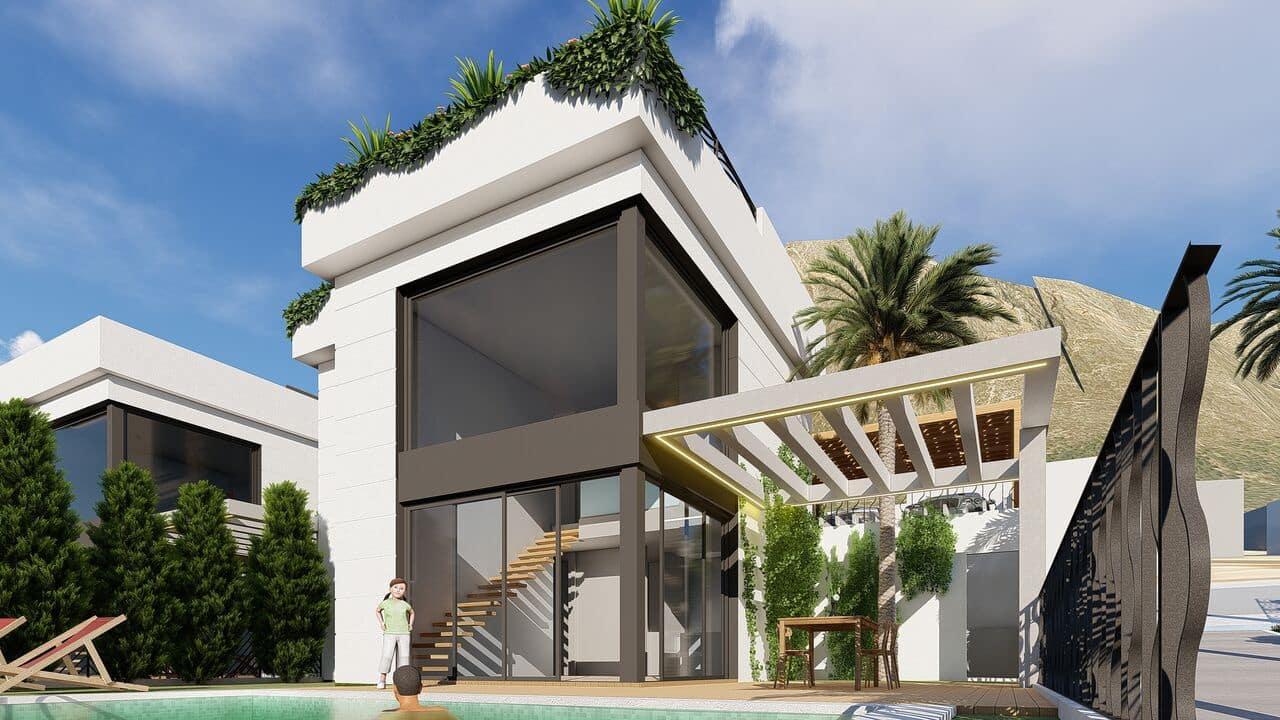 Chalet de 3 habitaciones en Polop en venta con piscina garaje - 348.300 € (Ref: 4816664)