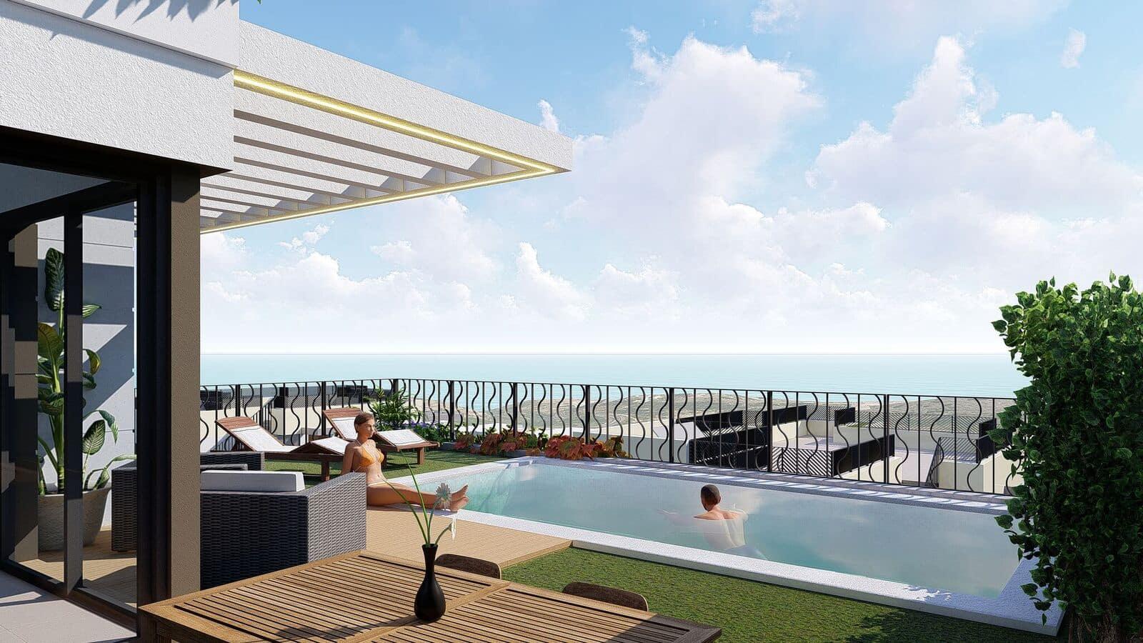 Chalet de 2 habitaciones en Polop en venta con piscina garaje - 194.000 € (Ref: 4816665)