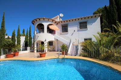 3 bedroom Villa for sale in Monte Pego with pool - € 280,000 (Ref: 5205951)