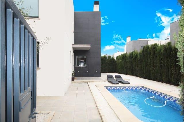 4 chambre Villa/Maison Mitoyenne à vendre à Torrent avec piscine garage - 370 000 € (Ref: 5919962)