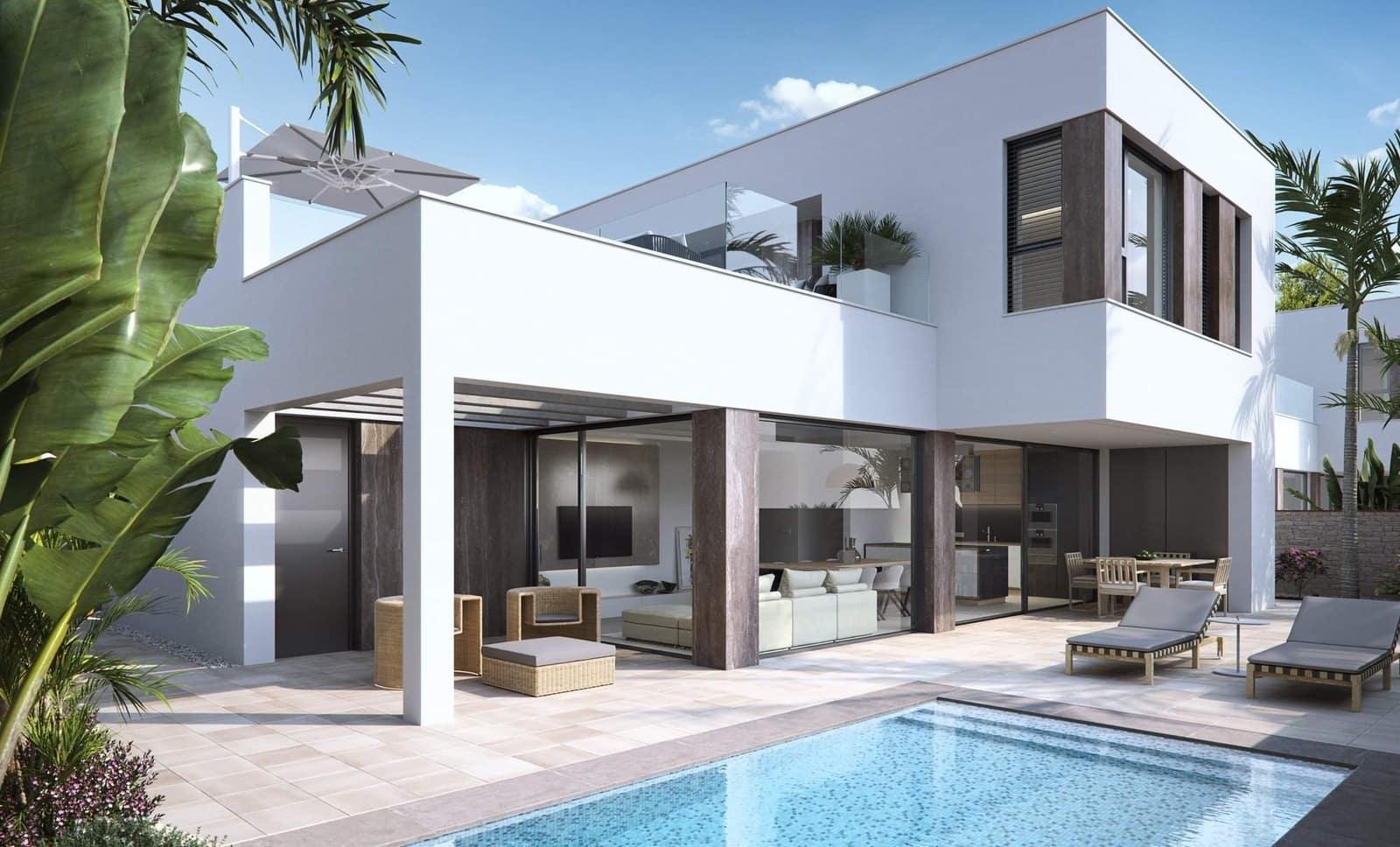 Chalet de 3 habitaciones en Pilar de la Horadada en venta - 790.000 € (Ref: 3777092)