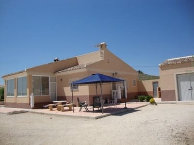 3 bedroom Finca/Country House for sale in Pinoso with garage - € 199,995 (Ref: 4146257)
