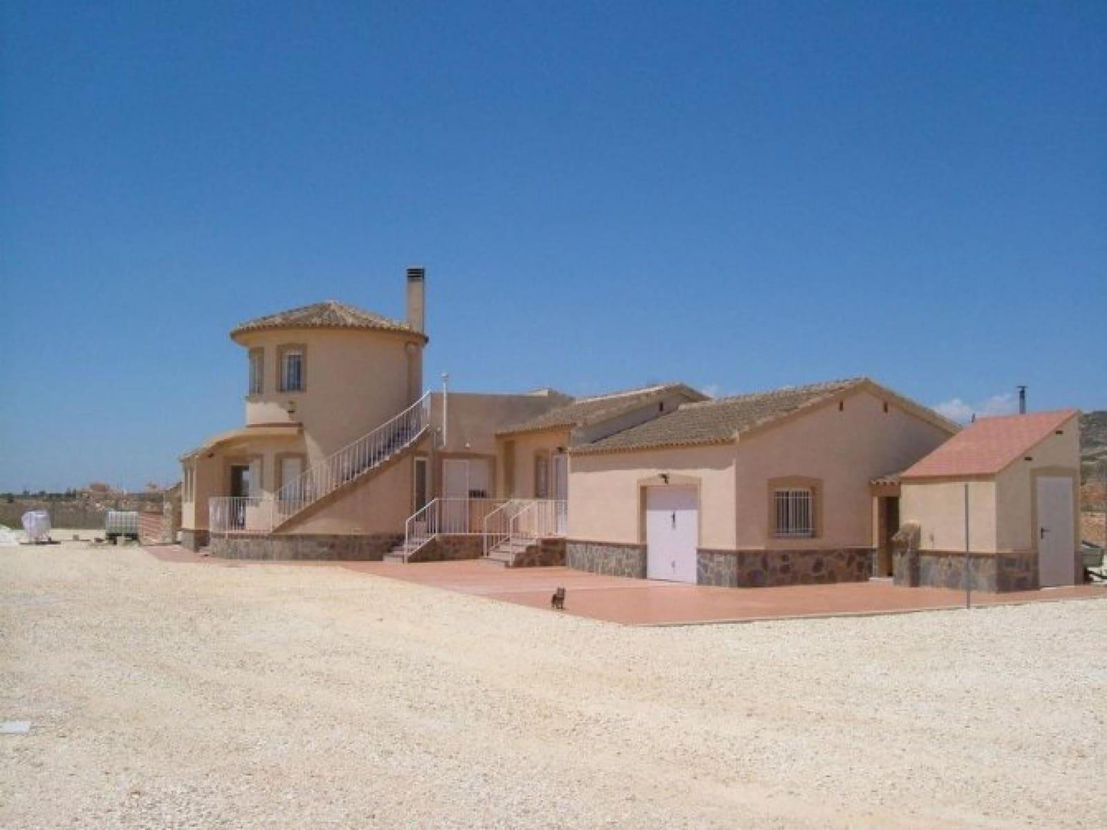 4 bedroom Villa for sale in Pinoso with garage - € 199,995 (Ref: 4396641)