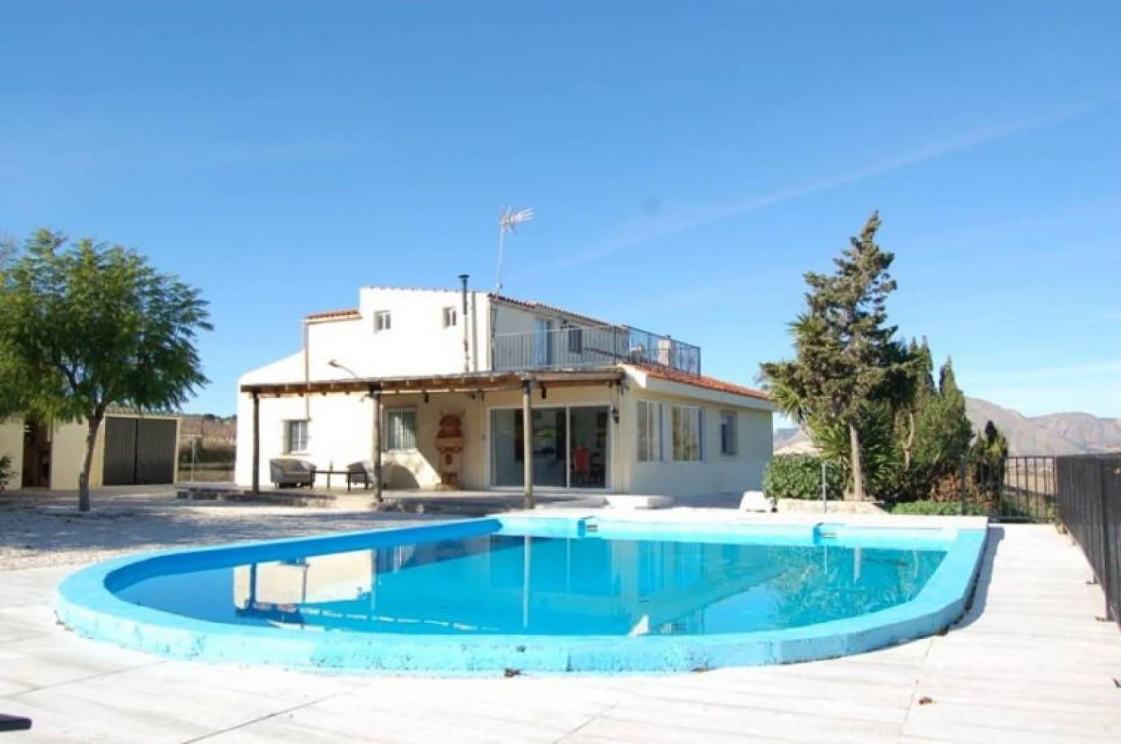 6 bedroom Villa for sale in Hondon de los Frailes with pool garage - € 199,950 (Ref: 4598584)