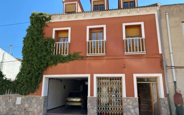 6 sypialnia Dom na sprzedaż w Caudete z basenem garażem - 194 995 € (Ref: 5164811)