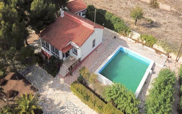 5 sypialnia Willa na sprzedaż w Sax z basenem garażem - 199 995 € (Ref: 5800463)