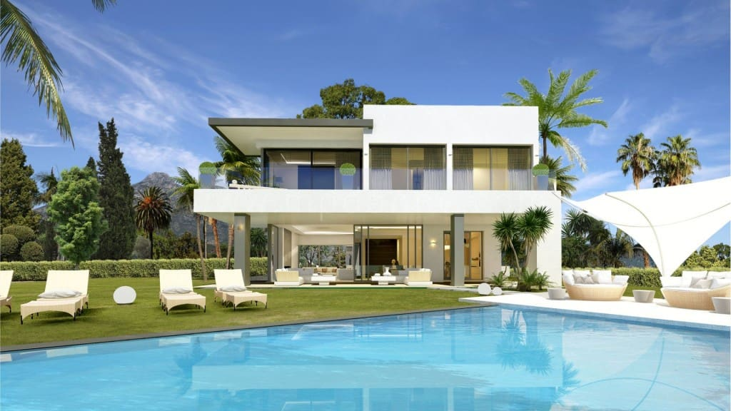4 bedroom Villa for sale in Marbella with pool - € 2,600,000 (Ref: 4996265)