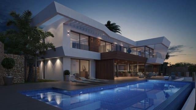 4 quarto Moradia para venda em Moraira com piscina garagem - 2 490 000 € (Ref: 5541530)