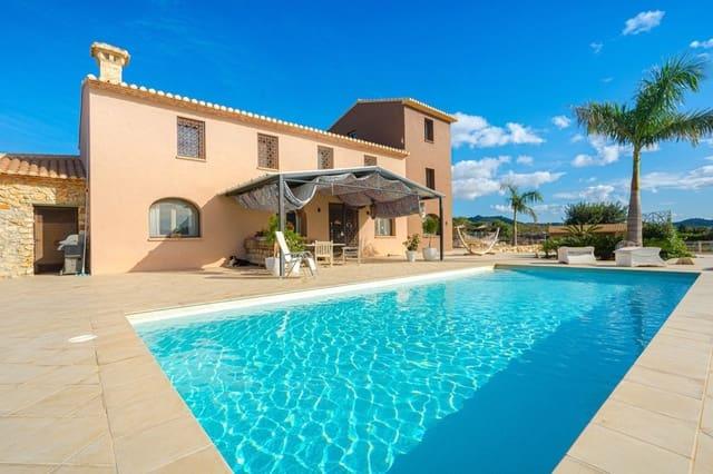 3 soveværelse Villa til salg i La Xara med swimmingpool - € 955.000 (Ref: 5709202)