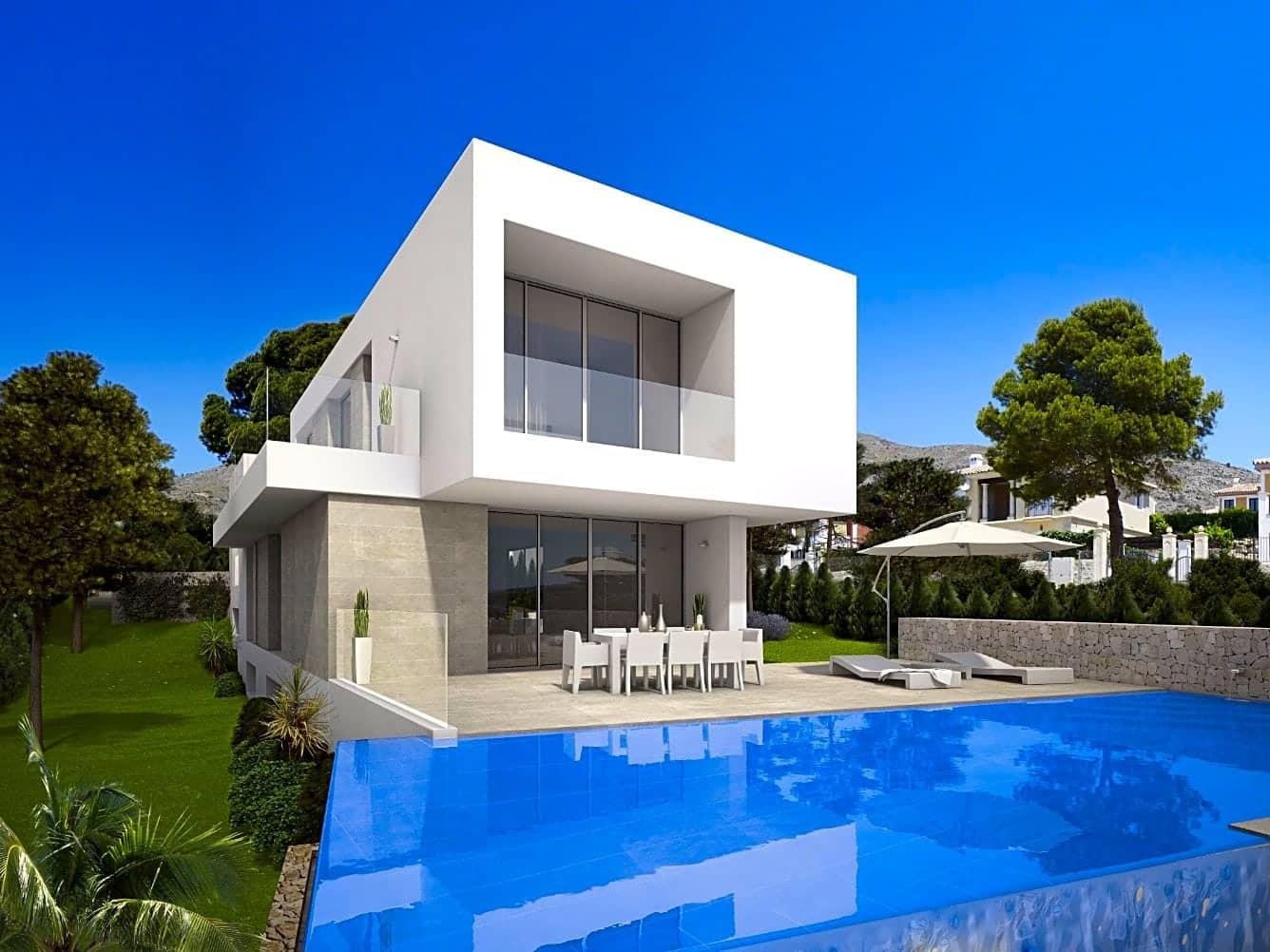 3 bedroom Villa for sale in Cala de Finestrat - € 990,000 (Ref: 4005149)