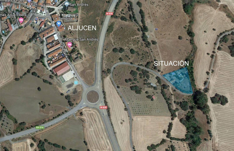 Finca/Casa Rural de 3 habitaciones en Aljucén en venta con piscina - 78.000 € (Ref: 4708969)