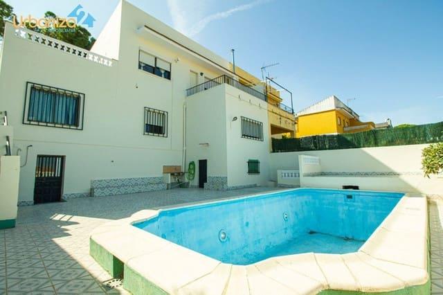 5 chambre Villa/Maison Semi-Mitoyenne à vendre à Badajoz ville avec piscine garage - 215 000 € (Ref: 5209186)