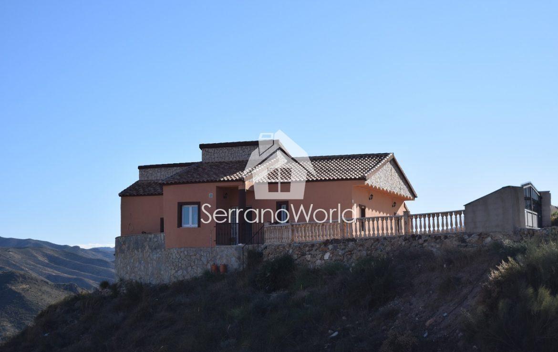 3 sovrum Finca/Hus på landet att hyra i Almanzora - 675 € (Ref: 3656837)