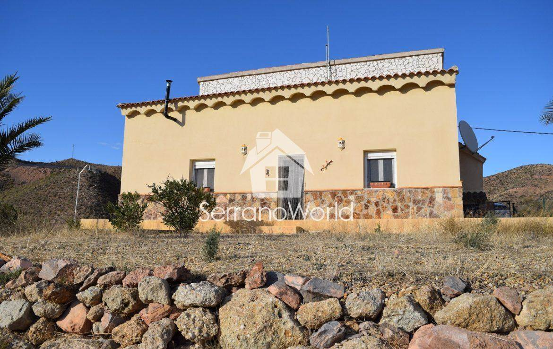 3 sovrum Finca/Hus på landet att hyra i Almanzora - 650 € (Ref: 3656839)
