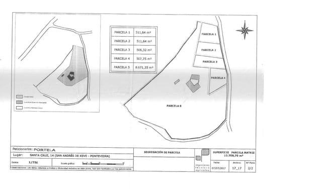 Ubebygd land til salgs i Xeve - € 40 000 (Ref: 4187062)