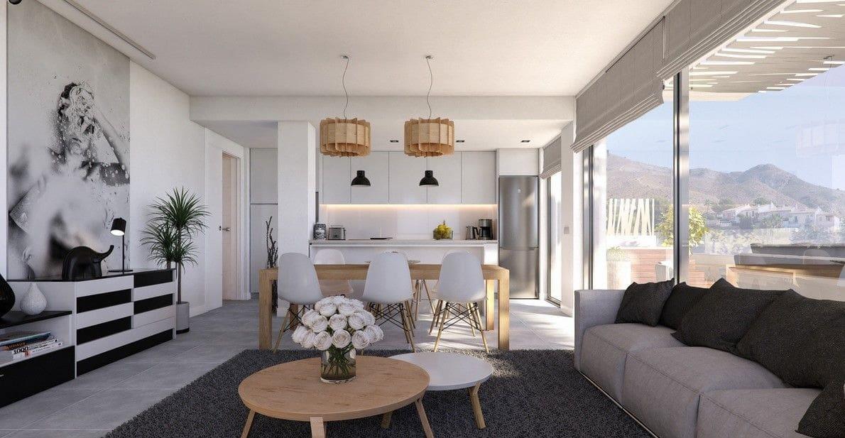 2 soveværelse Lejlighed til salg i Finestrat med swimmingpool - € 228.900 (Ref: 5551785)