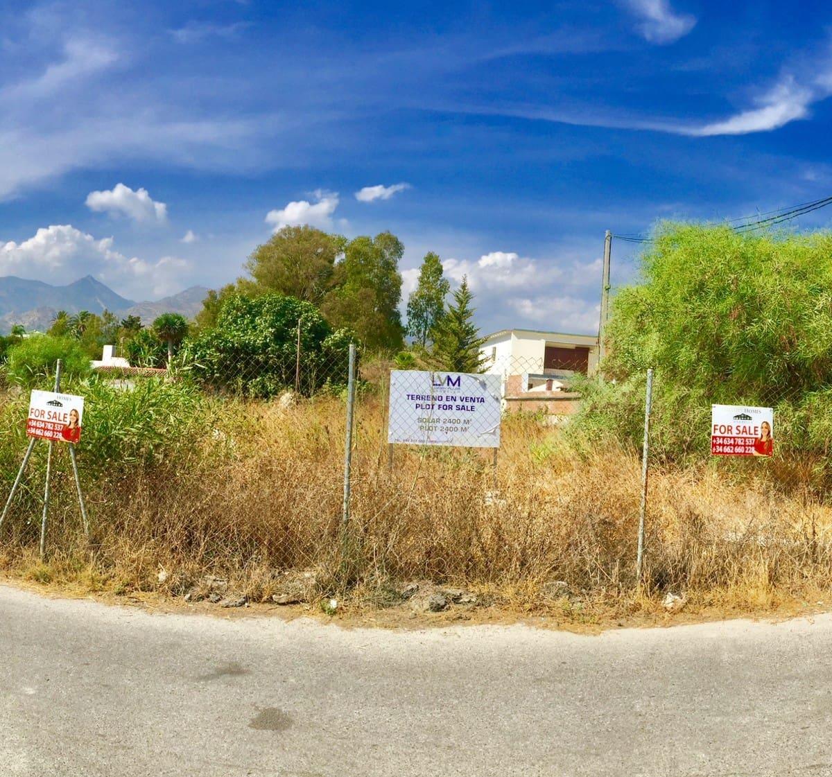 Building Plot for sale in Marbella - € 850,000 (Ref: 5135725)