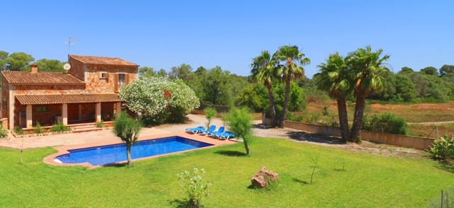 3 sovrum Finca/Hus på landet att hyra i Campos med pool - 3 000 € (Ref: 5279938)