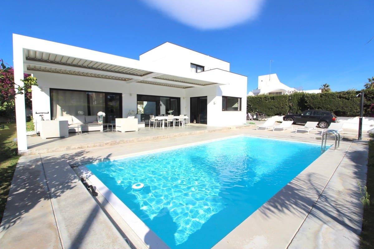 5 quarto Moradia para arrendar em San Pedro de Alcantara com piscina - 10 000 € (Ref: 5928586)