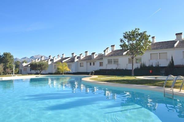 3 sovrum Semi-fristående Villa att hyra i Polop med pool - 850 € (Ref: 5347852)