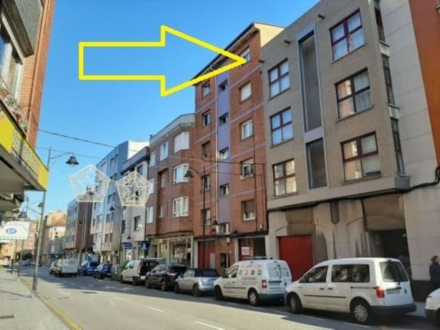 2 makuuhuone Huoneisto myytävänä paikassa Gijon - 34 900 € (Ref: 4628477)