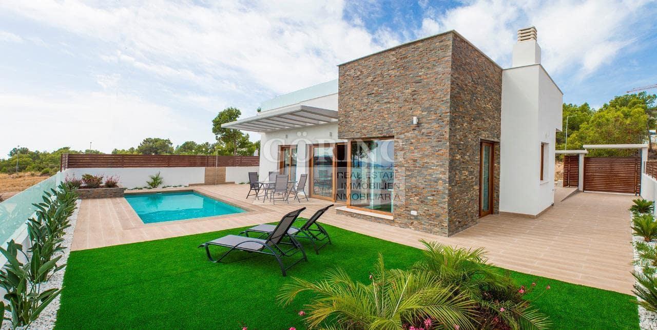 Chalet de 3 habitaciones en Polop en venta con piscina garaje - 346.100 € (Ref: 4620960)