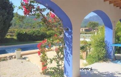 3 sovrum Villa att hyra i Jalon / Xalo med pool garage - 1 500 € (Ref: 5437477)