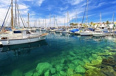 2 sovrum Hus till salu i Pasito Blanco med pool - 525 000 € (Ref: 4418843)