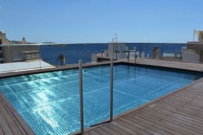 3 sovrum Lägenhet att hyra i Ibiza stad med pool garage - 2 600 € (Ref: 5428924)