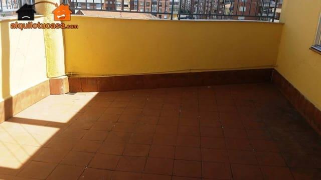 2 makuuhuone Kattohuoneisto vuokrattavana paikassa Valladolid kaupunki - 500 € (Ref: 4744848)