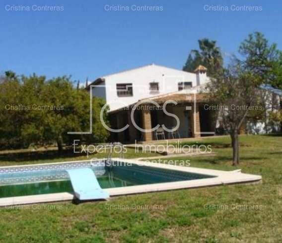 Finca/Casa Rural de 9 habitaciones en Sanlúcar la Mayor en venta con piscina garaje - 400.670 € (Ref: 3733811)