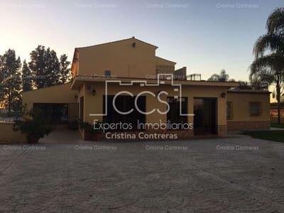 3 sovrum Finca/Hus på landet till salu i Dos Hermanas med pool - 590 000 € (Ref: 3733825)