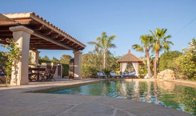 3 chambre Finca/Maison de Campagne à vendre à San Jose / Sant Josep de Sa Talaia avec piscine - 980 000 € (Ref: 3812510)