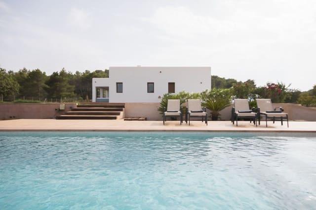 Chalet de 4 habitaciones en Santa Inés / Santa Agnès de Corona en alquiler vacacional con piscina - 2.750 € (Ref: 3911526)