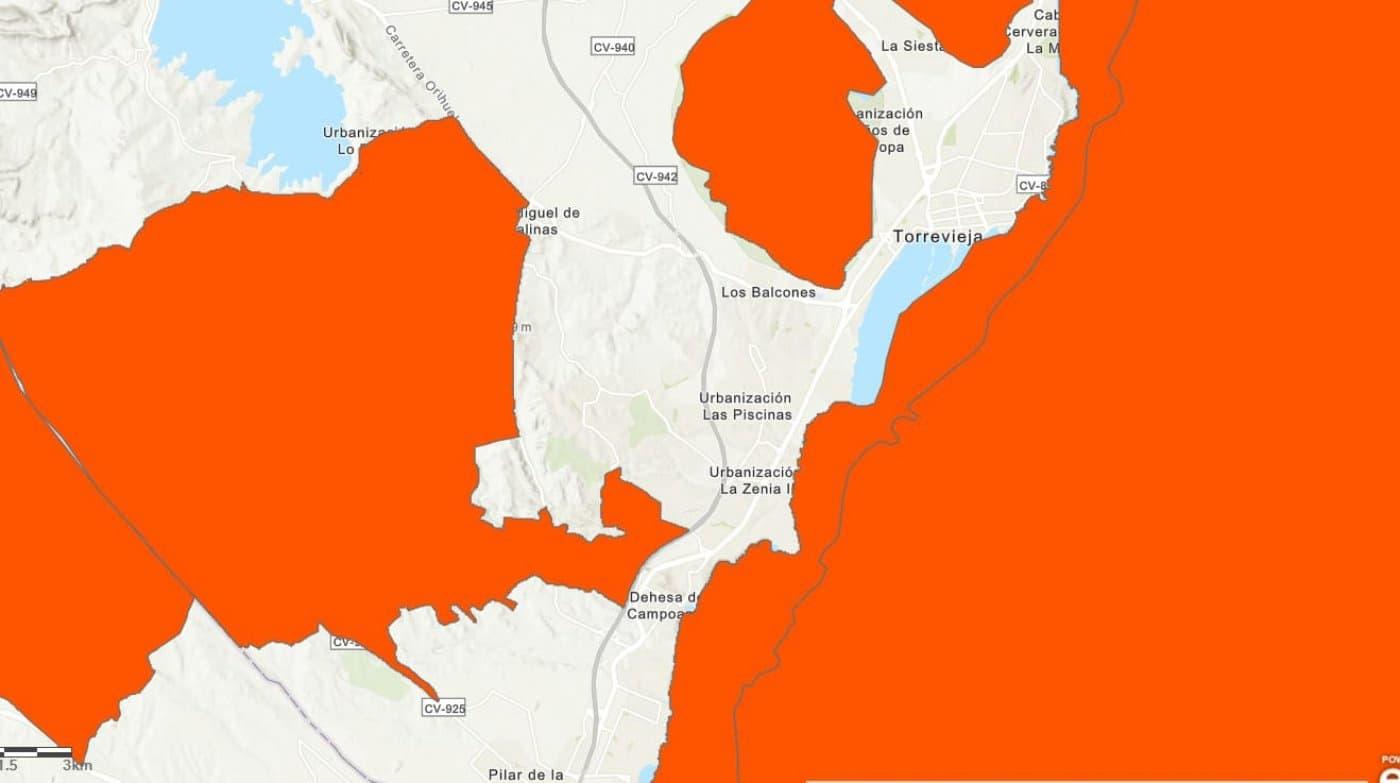 Ubebygd land til leie i San Miguel de Salinas - € 7 500 (Ref: 5724811)