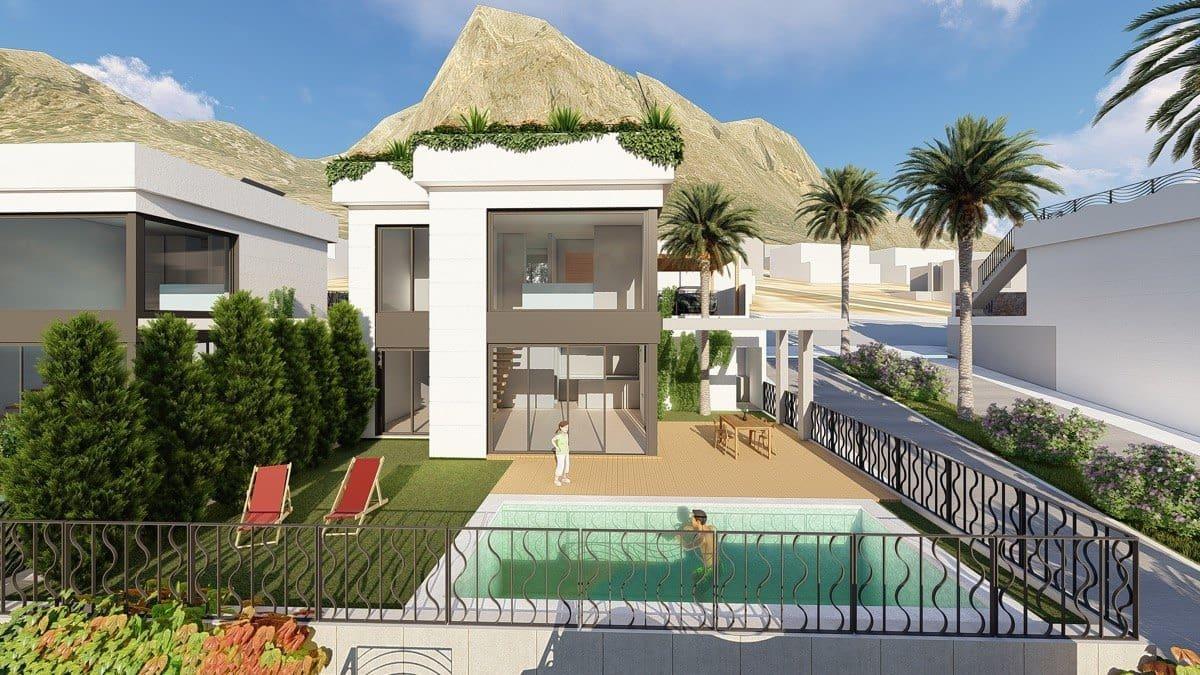 Chalet de 3 habitaciones en Polop en venta con piscina garaje - 342.000 € (Ref: 5055171)