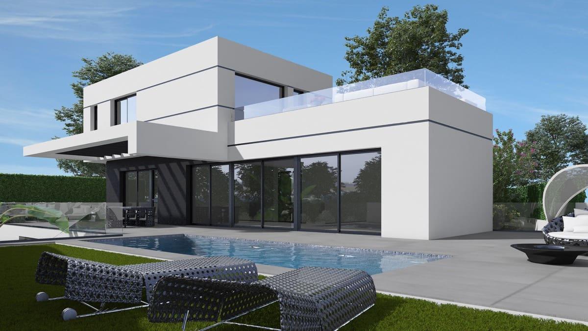 Chalet de 3 habitaciones en Polop en venta con piscina garaje - 615.000 € (Ref: 5055181)