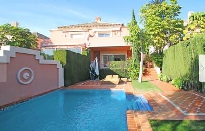 4 slaapkamer Halfvrijstaande villa te huur in Marbella met zwembad garage - € 3.500 (Ref: 5340205)