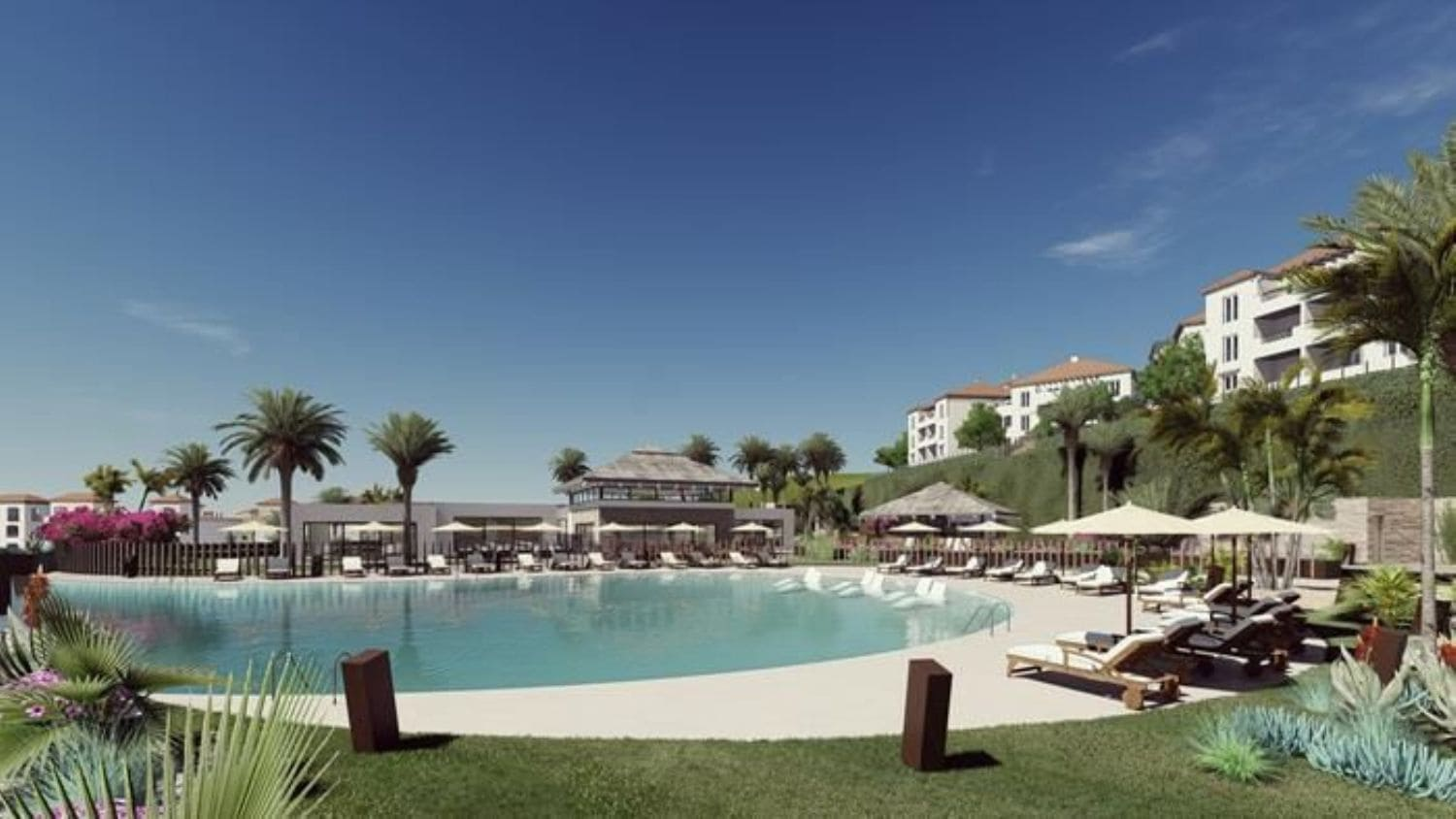 2 bedroom Flat for sale in Manilva with pool - € 97,500 (Ref: 5187361)