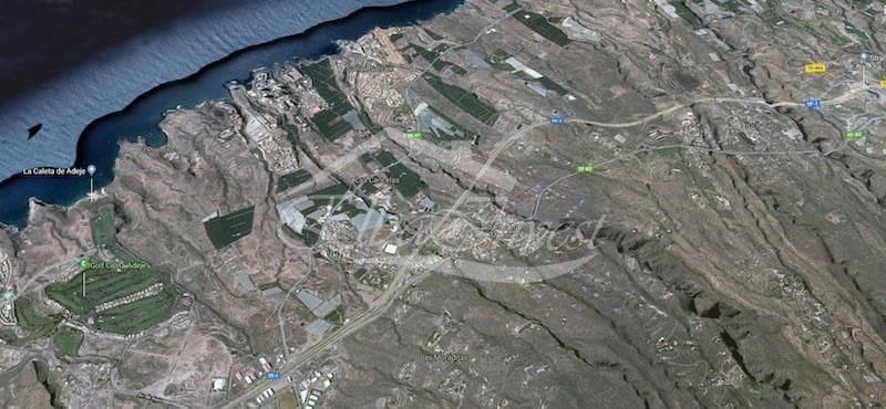 Ubebygd land til salgs i Callao Salvaje - € 340 000 (Ref: 5802644)